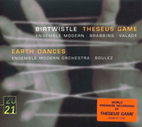 Musique de Harrison Birtwistle, direction Pierre-André Valade